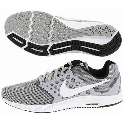 20. Nike Downshifter 7 Wolf Mens Running Shoes