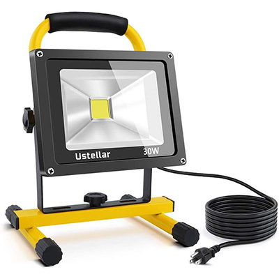 8. Ustellar 2400LM 30W LED Work Light