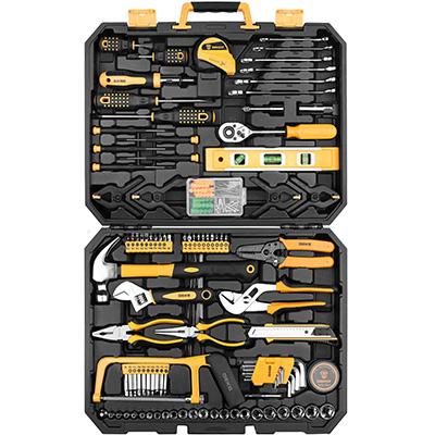 6. DEKOPRO 168 Piece Hand Tool Kit