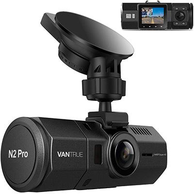 2. Vantrue N2 Pro Uber Dual Dash Cam