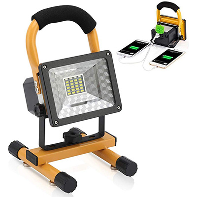 12. Vaincre LED Portable Work Lights with Magnetic Base – Yellow