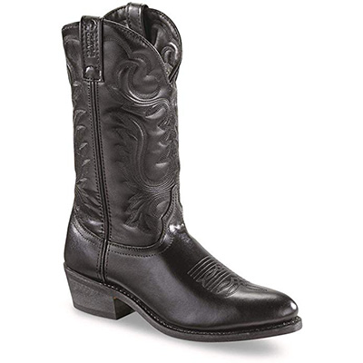 "15. Guide Gear Men's 12"" Cowboy Boots - Black"