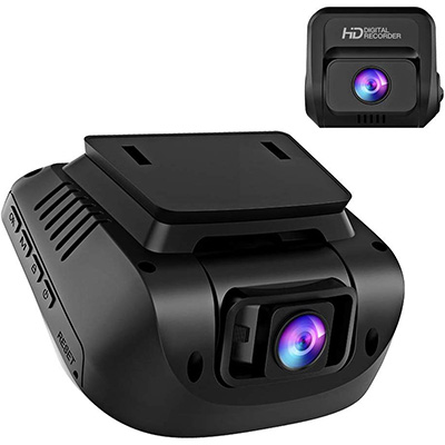4. Crosstour Both 1080P FHD Front and Rear Dash Cam (CR900)