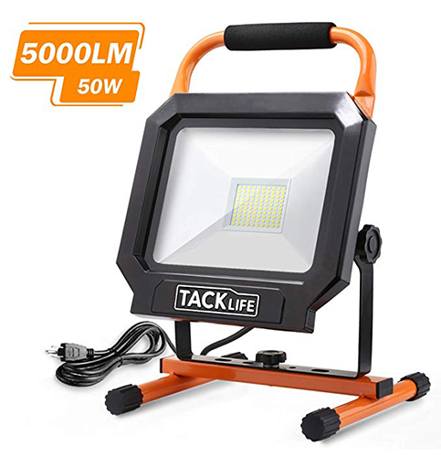 11. Tacklife 5000LM 50W LED Work Light