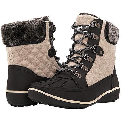 15. GLOBALWIN Women's Liza Winter Boots