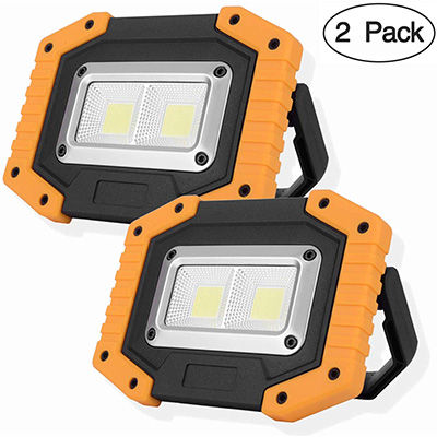 14. OTYTY 2 COB 30W 1500LM LED Work Light (2 Pack)