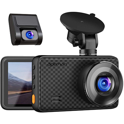 5. APEMAN 1440P & 1080P Dual Dash Cam