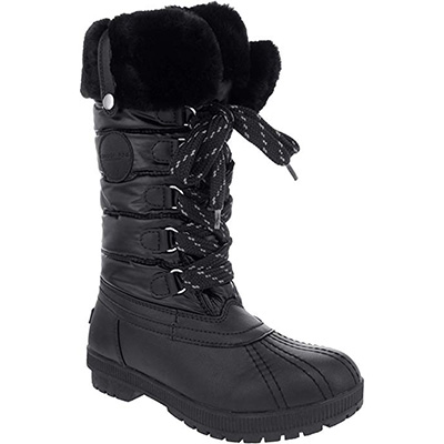 8. London Fog Womens Cold Weather Snow Boot